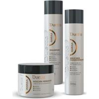 Kit Marula Duetto 1 Shampoo 300Ml +1 Condicionador 300Ml+1 Máscara 500G - Unissex-Incolor
