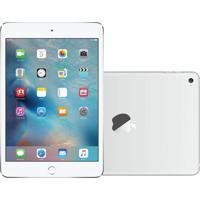 """Tablet Apple Ipad Mini 4 7.9"""" Wi-Fi 128Gb Mk772 Prata"""