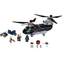 Lego Super Heroes Marvel - Perseguição De Helicóptero Da Viúva Negra Lego