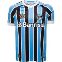 Camisa Umbro Masculina Grêmio Oficial I 2018 Torcedor Nº 7 - Masculino