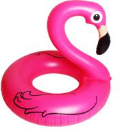 Bóia Diluxo Flamingo Rosa