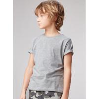 Camiseta Básica Infantil Menino Com Gola Redonda Hering Kids