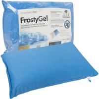Travesseiro Fibrasca Frio Frostygel Lavável 50X70Cm Azul