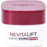 Creme Anti Idade Facial L'Oréal Paris Revitalift Creme Diurno Fps18 49G - Feminino-Incolor