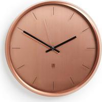 Relógio De Parede Mett 32 Cm Cobre
