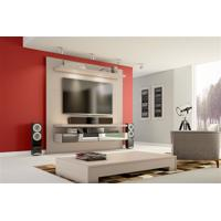 Home Theater Espelhado Com Led Tb107E Suspenso 180Cm Dalla Costa Fendi