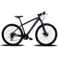 Bicicleta Aro 29 Rino Everest 24V - Cambios Index - Unissex