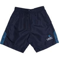 Bermuda Vels Juvenil Para Menino - Azul Marinho