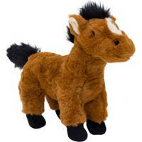 Pelúcia Minas De Presentes Cavalo Marrom - Kanui