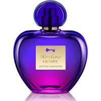 Perfume Antonio Banderas Her Secret Desire Feminino Eau De Toilette