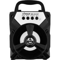 Mini Caixa De Som Ms-301Bt Speaker Turbo Xtrad - Unissex