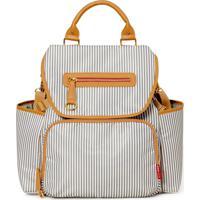 Bolsa Maternidade Skip Hop - Coleção Grand Central Take-It-All Backpack ( Mochila) - French Stripe