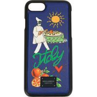 Dolce & Gabbana Case Para Iphone 7/8 Plus - Azul