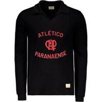 Camisa Athletico Paranaense Especial Goleiro Retrô Masculina - Masculino