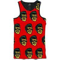 Camiseta Bsc Regata Terror Full Print - Masculino-Preto