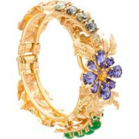 Dolce & Gabbana Bracelete Com Aplicação De Pedras - Metálico