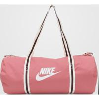 Bolsa Nike Sportswear Heritage Duff Rosa