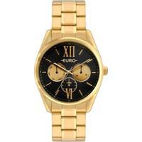 Relógio Euro Feminino - Feminino-Dourado