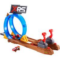 Pista E Veículo - Disney - Carros - Desafio De Batidas - Mattel