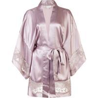 Fleur Du Mal Kimono 'Chateau' - Rosa