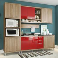 Cozinha Compacta Lareska Iv 12 Pt 3 Gv Argila