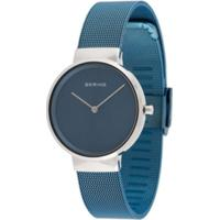 Bering Relógio Texturizado - Azul