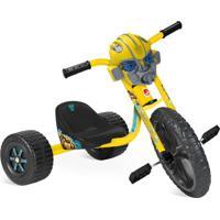 Triciclo Velotrol Transformers Amarelo