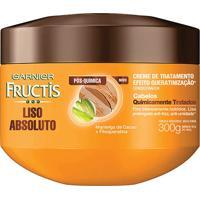 Creme De Tratamento Fructis Liso Absoluto Pós Química 300G
