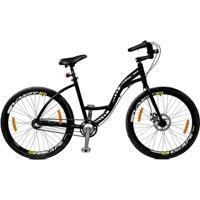 Bicicleta Master Bike Aro 26 Urbis Freio Á Disco 3 V Nexus - Unissex