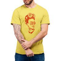 Kahlo Hipster - Camiseta Basicona Unissex