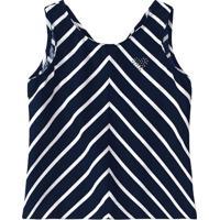 Blusa Listrada - Azul Marinho E Branca - Kidsmalwee