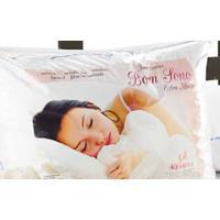 Travesseiro Bom Sono Dourados Enxovais Branca