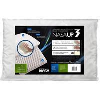 Travesseiro Viscoelástico Com Toque Massageador Nasa Up 3