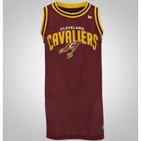 Camisa Regata Cleveland Cavaliers Jersey Game New Era - Masculina - Vinho