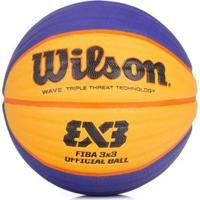 Bola Wilson Basquete Oficial Fiba 3X3 - Unissex