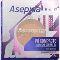 Pó Compacto Asepxia Antiacne Cor Marfim Fps20 10G