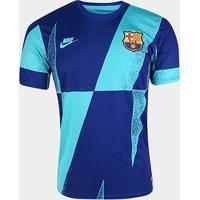 Camisa Barcelona Pré Jogo Cl 19/20 Nike Masculina - Masculino