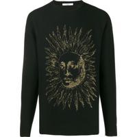 Givenchy Suéter Sun Com Logo - Preto