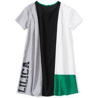Vestido Lilica Ripilica Infantil - 10111534I Cinza