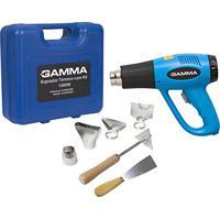 Soprador Térmico Com Kit, Gamma Ferramentas, G1935K/Br2, Azul