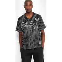Camisa Botafogo Baseball Masculina - Masculino