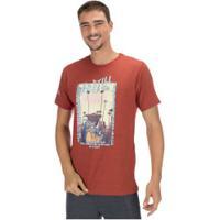 Camiseta Ecko Estampada E709A - Masculina - Vermelho