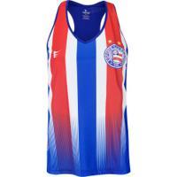 Camiseta Regata Do Bahia Tricolor 2019 Super Bolla - Feminina - Azul/Vermelho