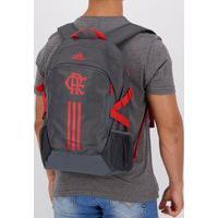 Mochila Adidas Flamengo Cinza E Vermelha