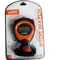 Cronômetro Liveup Progressivo De Mão Digital Com Alarme - Unissex
