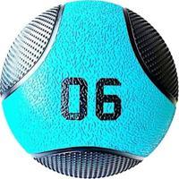 Bola De Peso Medicine Ball 6 Kg Liveup Pro D Lp8110-06 - Unissex
