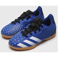 Chuteira Adidas Infantil Predator 21 4 Salao Jr Azul