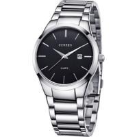 Relógio Curren Analógico 8106 Preto