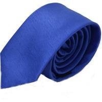 Gravata Levok Azul Slim Azul