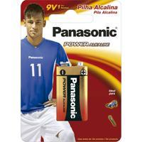 Bateria Alcalina Panasonic 9V